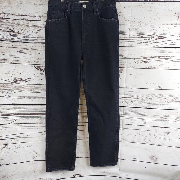 Free People Denim - Free People We the Free black mom jeans size 27